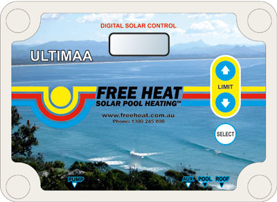 ultimaa solar pool heating unit